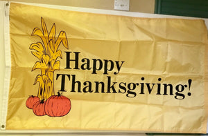 ANNIN 3'x5' NYL-GLO THANKSGIVING FLAG NYLON WITH GROMMETS