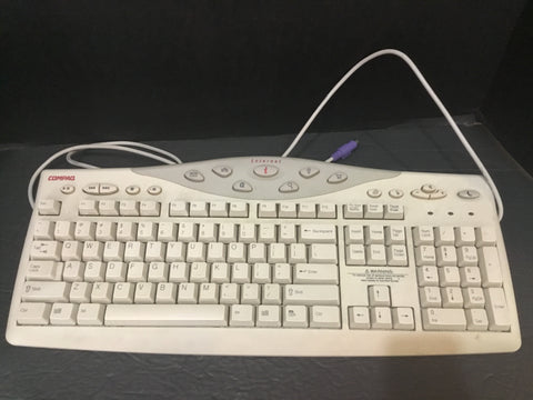 COMPAQ COMPUTER KEYBOARD MODEL SK-2800 INTERNET COMPATIBLE (WORKS)