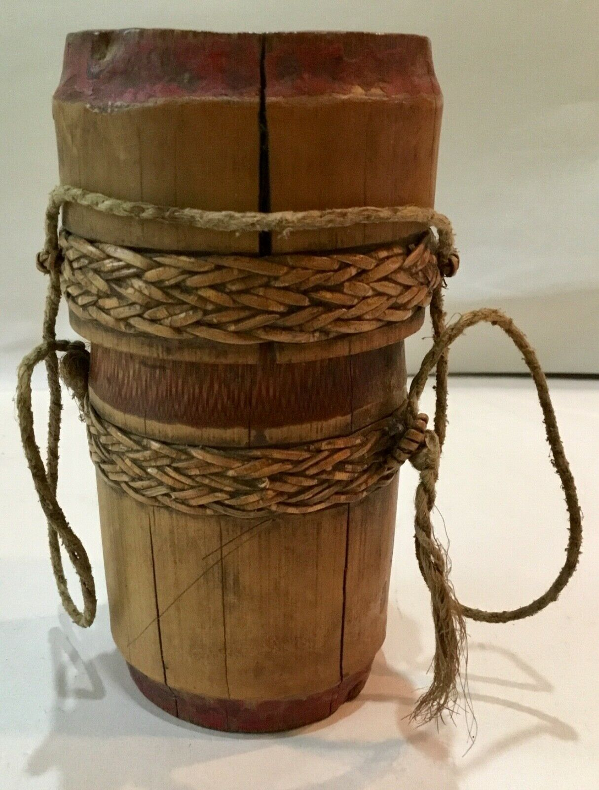 AFRICAN BAMBOO CONTAINER 4.5""