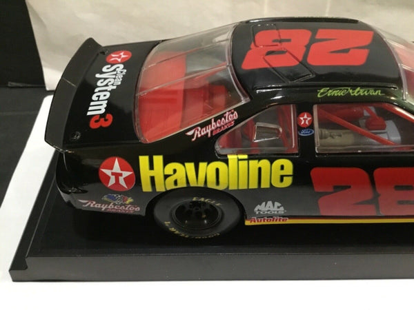 1996 TEXACO HAVOLINE RACING CHAMPIONS 1:24 SCALE ERNIE IRVAN DIE CAST BANK