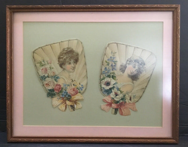 VICTORIAN STYLE FRAMED PICTURE