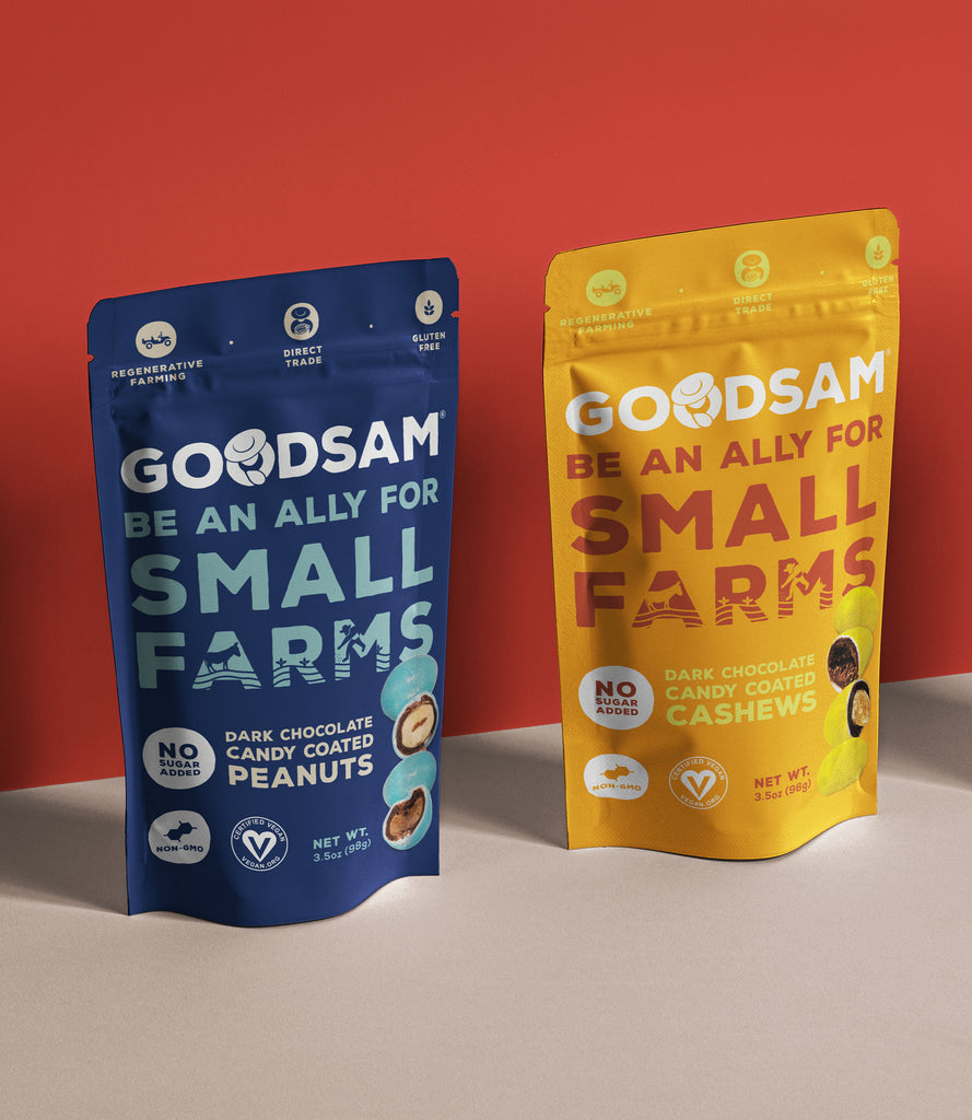 GoodSam Dark Chocolate Coated Nuts