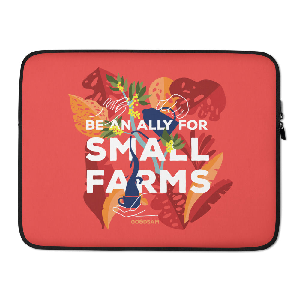 Be an Ally Laptop Sleeve - Red