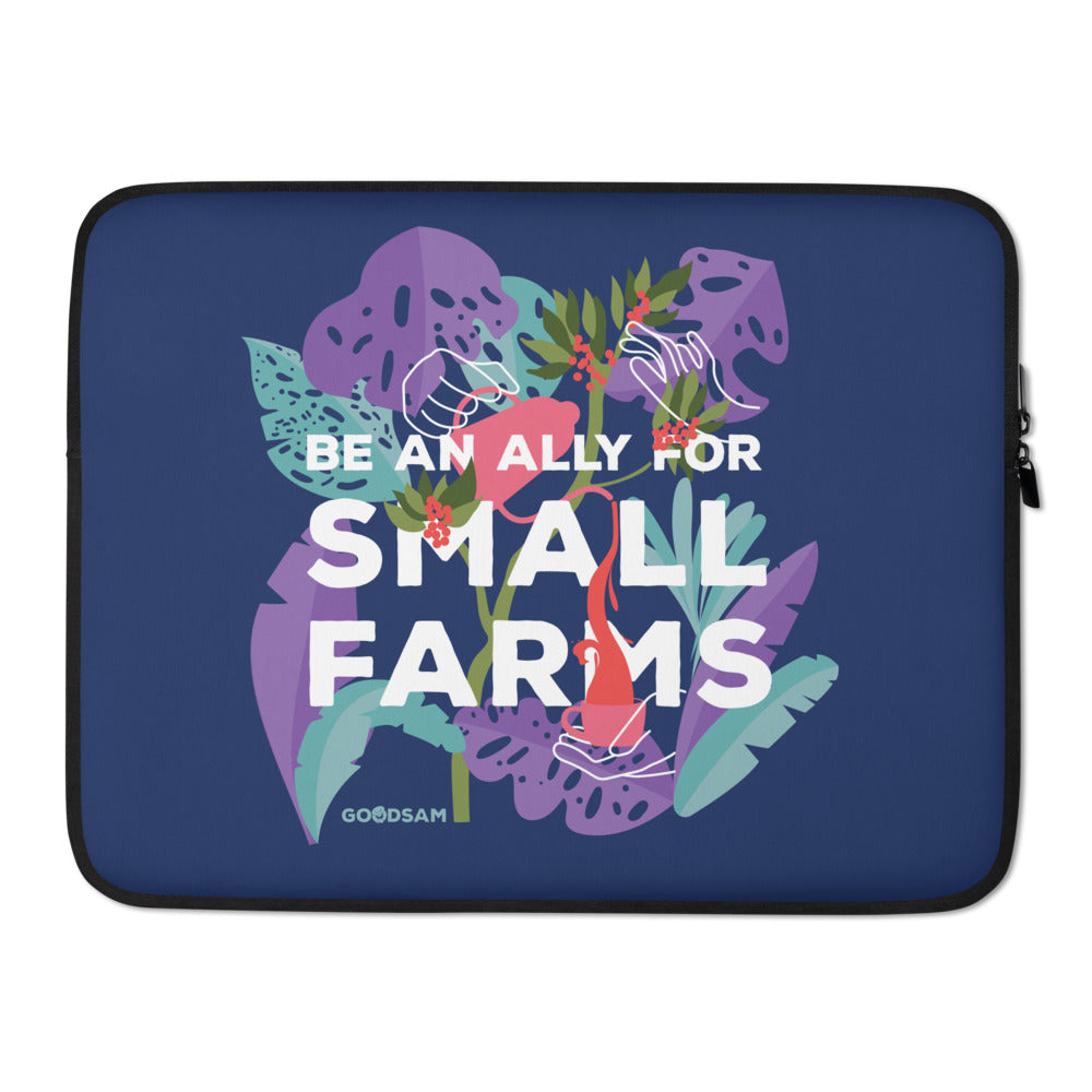 Be an Ally Laptop Sleeve - Blue