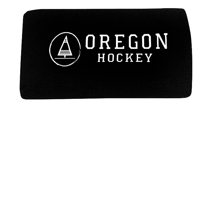 Wristband Black - Oregon Hockey