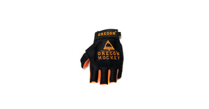 Black/Orange Glove - Oregon Hockey