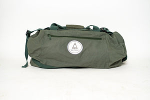 Authentic Green Duffel Bag