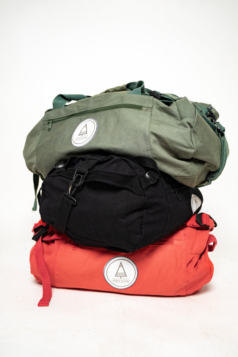 Authentic Red Duffel Bag