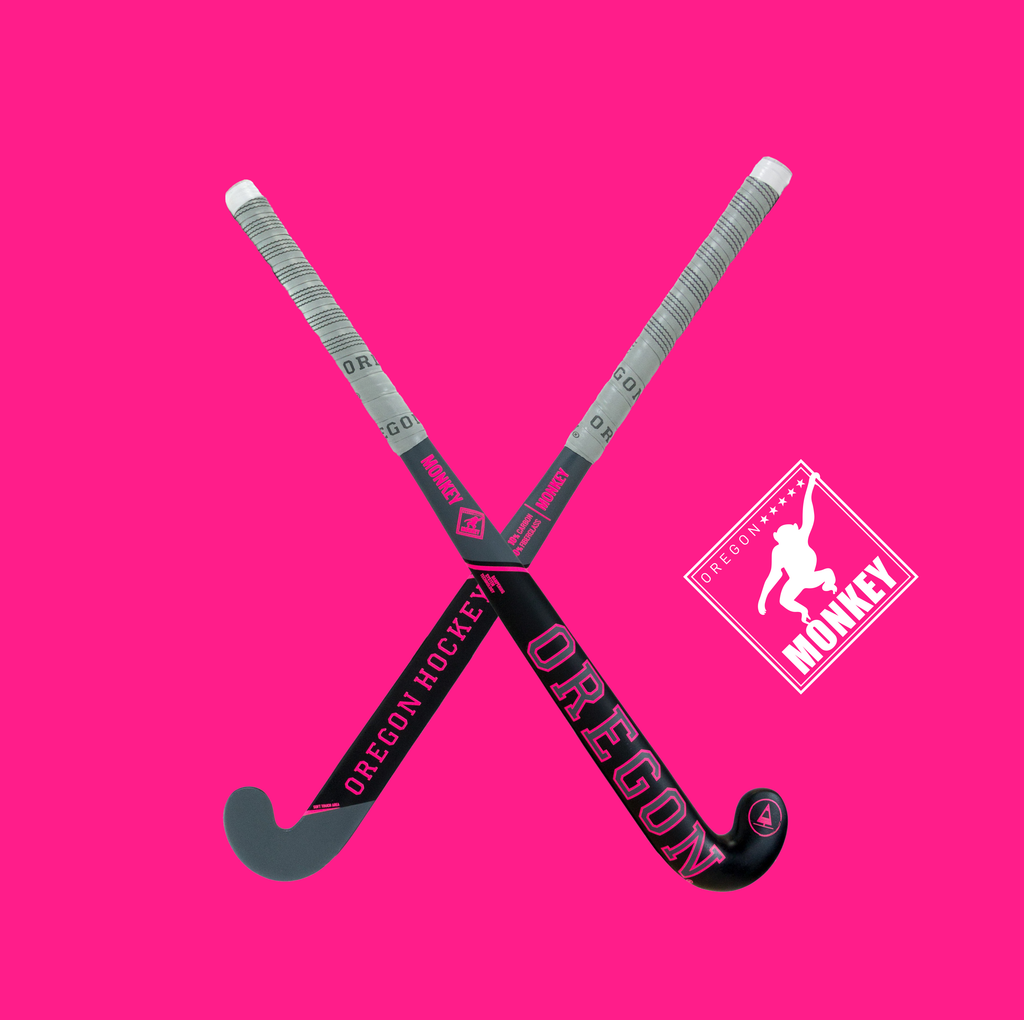 Monkey Pink - Oregon Hockey