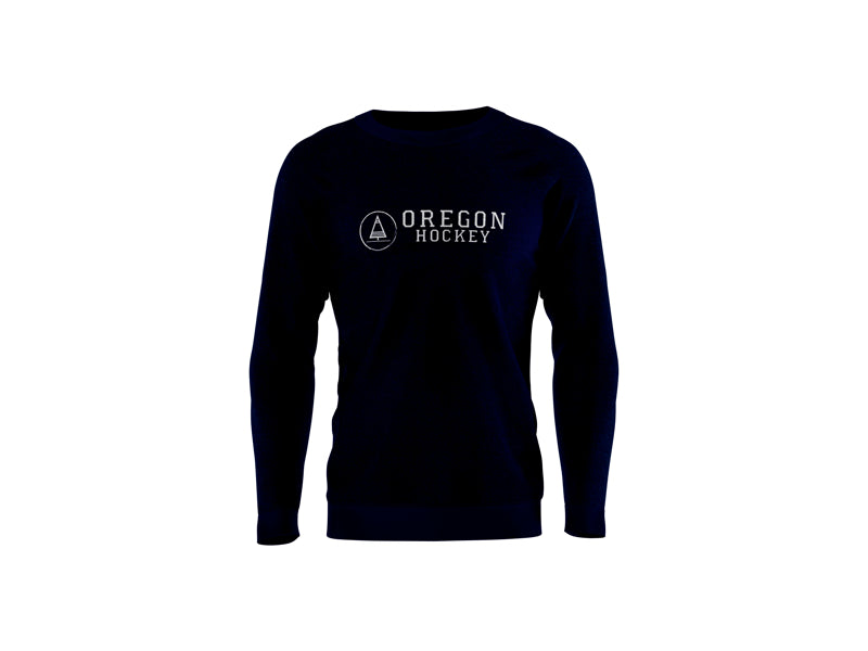 Sweat All Day Navy - Oregon Hockey