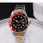 19 Stainless Steel Submariner Style Watch - Kryzeus