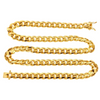 6MM Cuban Curb Link 18k Gold Chain - Kryzeus