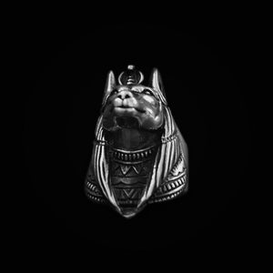Death Anubis Stainless Steel Ring - Kryzeus