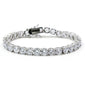 Tennis Iced Out 1 Row CZ Charm Bracelet - Kryzeus