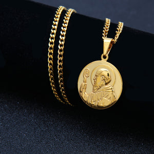Saint Benedict of Nursia Evil Protection Necklace - Kryzeus