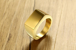 10mm Titanium Stainless Steel Ring - Kryzeus