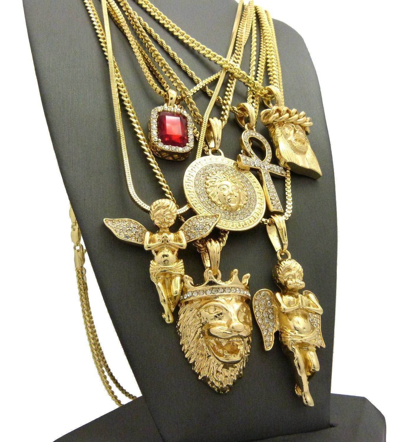 Golden God Custom Jewelry Set - Kryzeus