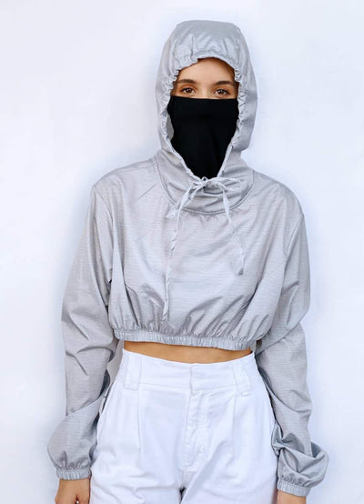 Maaji Love Conquers All Protective Long Sleeve Jacket With Built In Mask - Maaji