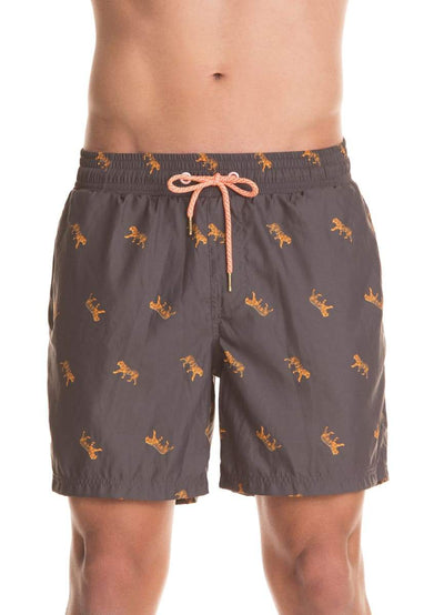 Maaji Hidden Tiger Solid Shorts Swim Trunks - Maaji