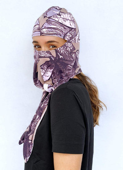 Maaji Courage To Grow Protective Masked Turban - Maaji