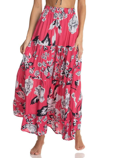 Maaji Strawberry Lolipop Long Skirt
