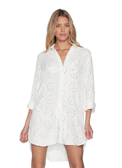 Maaji Make-Believe Long Shirt Beach Cover Up