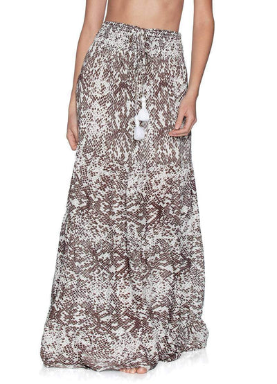 Maaji Mother of Pearl Convertible Long Beach Dress