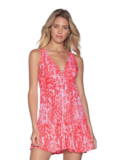 Maaji Blooming Wild Short Beach Dress
