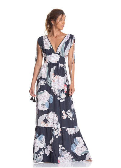 Maaji Hydrangea Abloom Long Dress