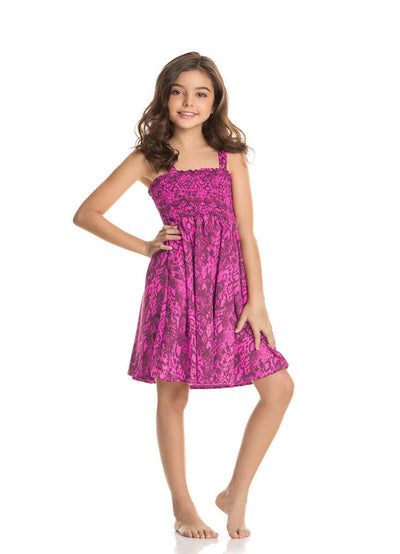 Maaji Blooming Azalea Chiquita Girls Short Dress - Maaji