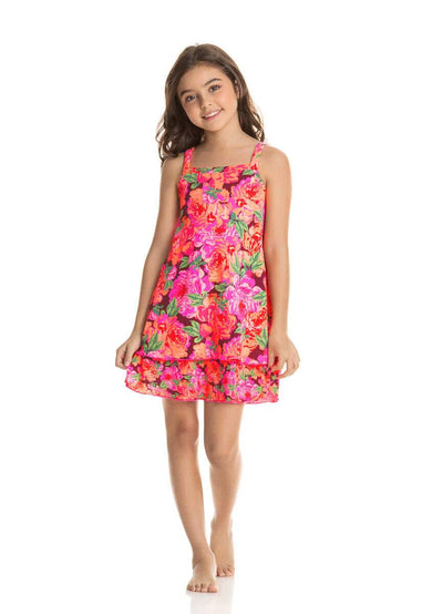 Maaji Petite Rose Camille Girls Short Dress - Maaji