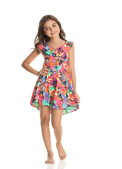 Maaji Little Stargazer Shoo Girls Short Dress - Maaji