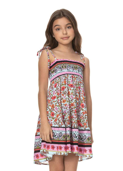 Maaji La Isla Bonita Pastel Girls Short Dress - Maaji