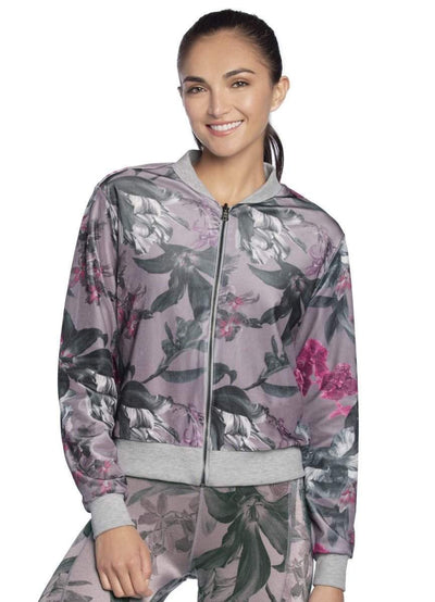Maaji Eight Track Flora Lilac Reversible Jacket