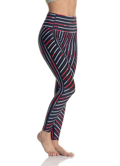 Maaji Dazzling High Barres Steel High Rise Full Legging