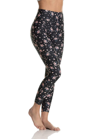 Maaji Dazzling Meadow Steel High Waisted ⅞ Leggings