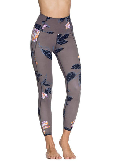 Maaji Dazeful High Tullip Sepia High Rise 7/8Th Legging
