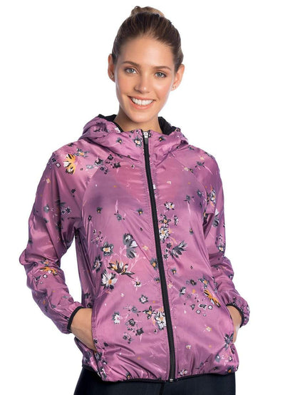 Maaji Wanderer Wildflowers Iris Packable Jacket