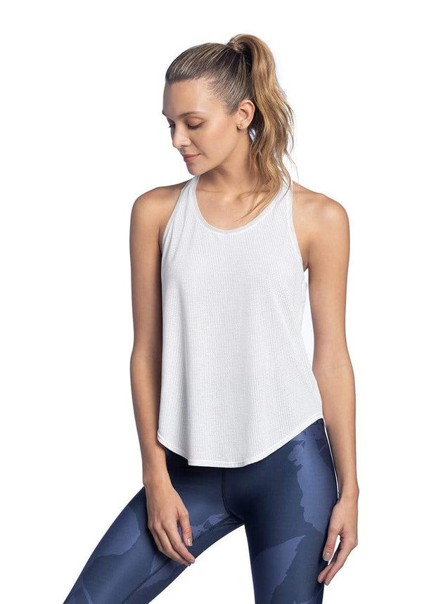 Maaji Radiance White Tech Tank Top
