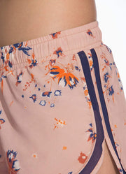 Maaji Air Wildflowers Peach Short With Brief Liner