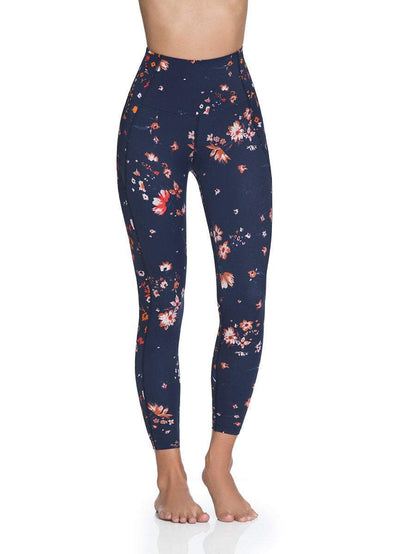 Maaji Mayfly Wildflowers Indigo High Rise 7/8Th Legging