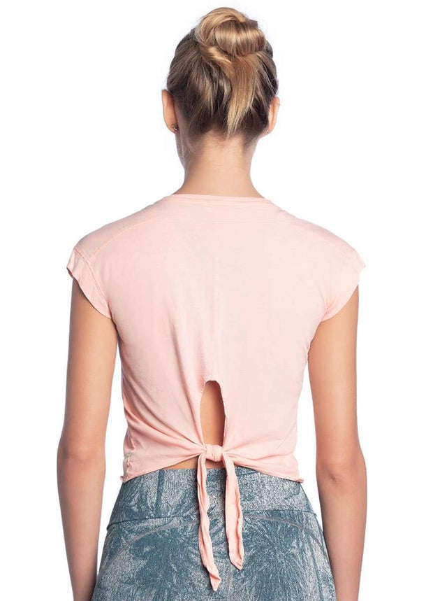 Maaji Dawn Peach Short Sleeve Top