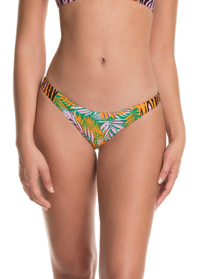 Maaji Golden Hour Flirt Thin Side Bikini Bottom - Maaji