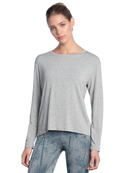 Maaji Flint Pewter Long Sleeve Top