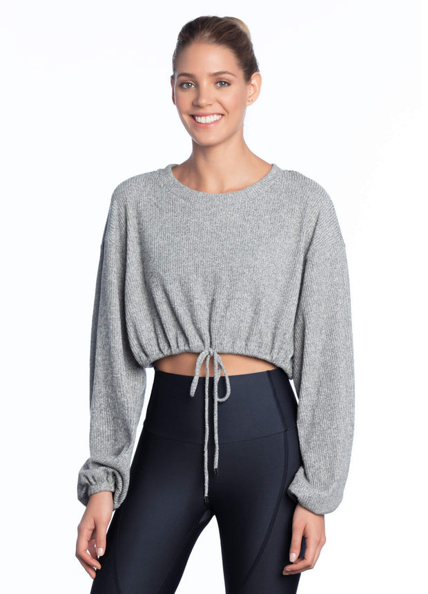 Maaji Icing Pewter Long Sleeve Layer