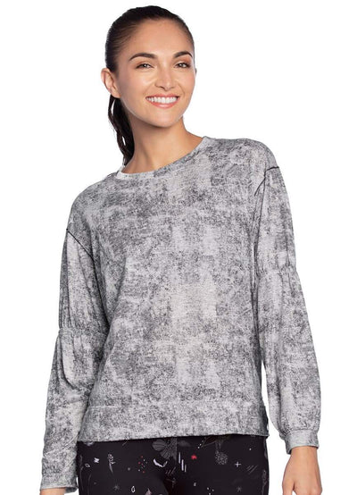 Maaji Aesthetic Gray Long Sleeve Top