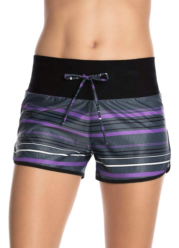 Maaji Instinct Stripe Pacific Short With Brief Liner