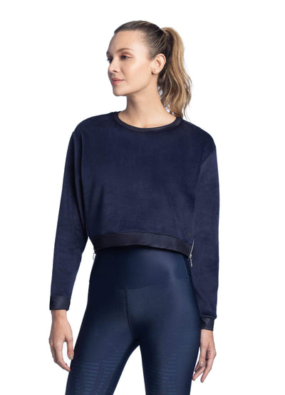 Maaji Sound Midnight Crop Sweatshirt - Maaji