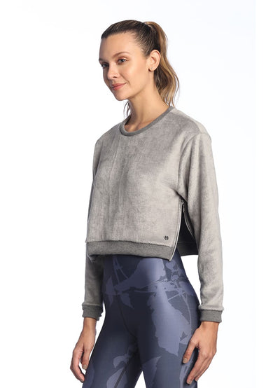 Maaji Sound Pebble Crop Sweatshirt