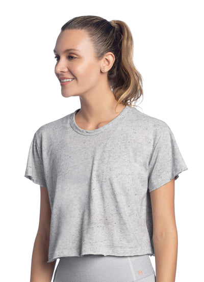 Maaji Peace Pure Cloud Cropped T-Shirt